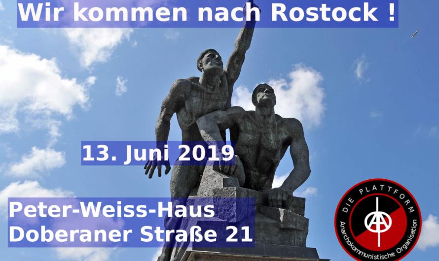 Wir kommen nach Rostock!